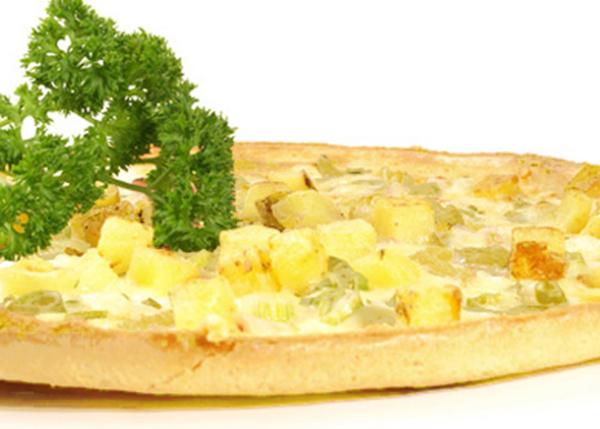Kartoffeloste tærte