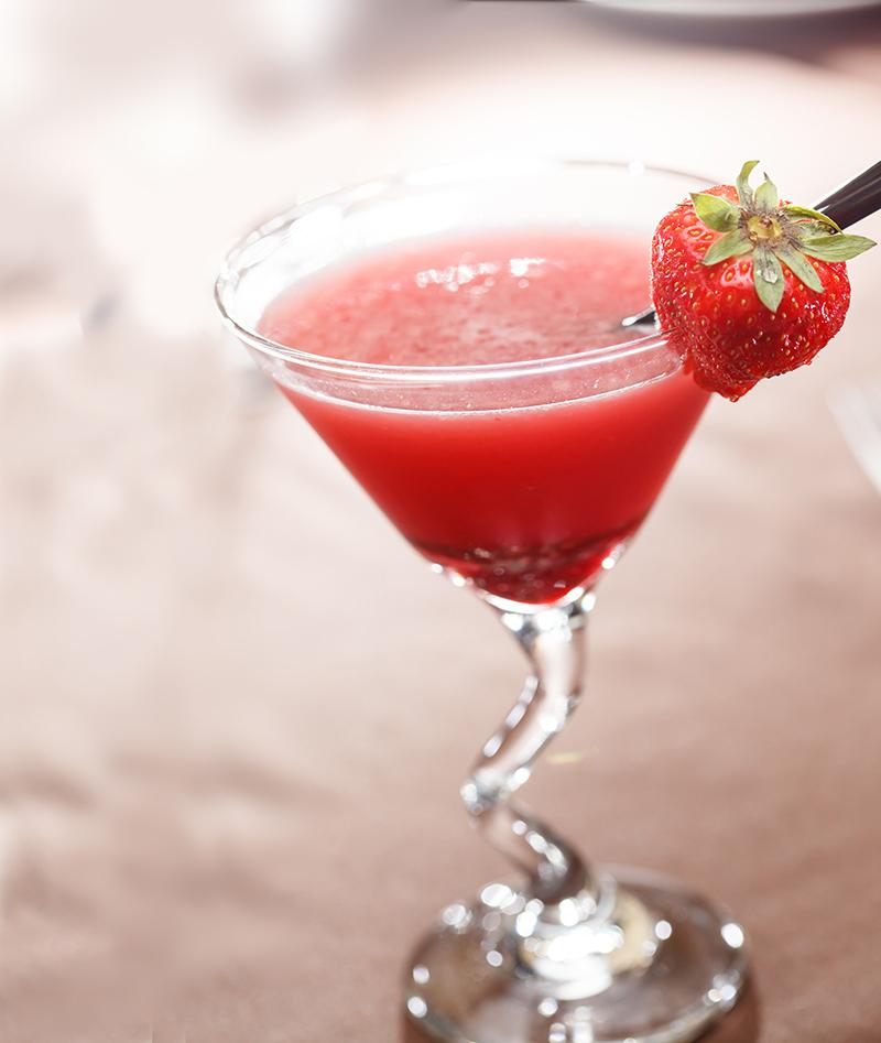 jordbær papaya cocktail