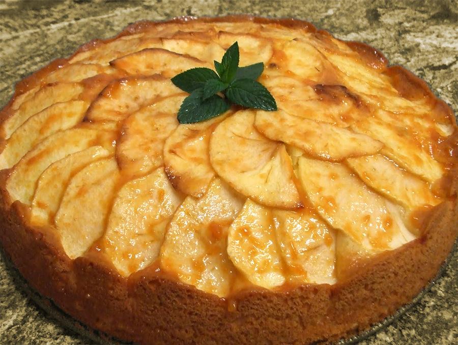 Kartoffel-æblekage